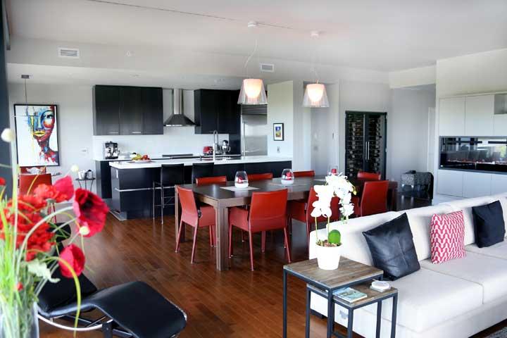 décoration cuisine penthouse