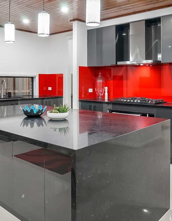 design cuisine rouge