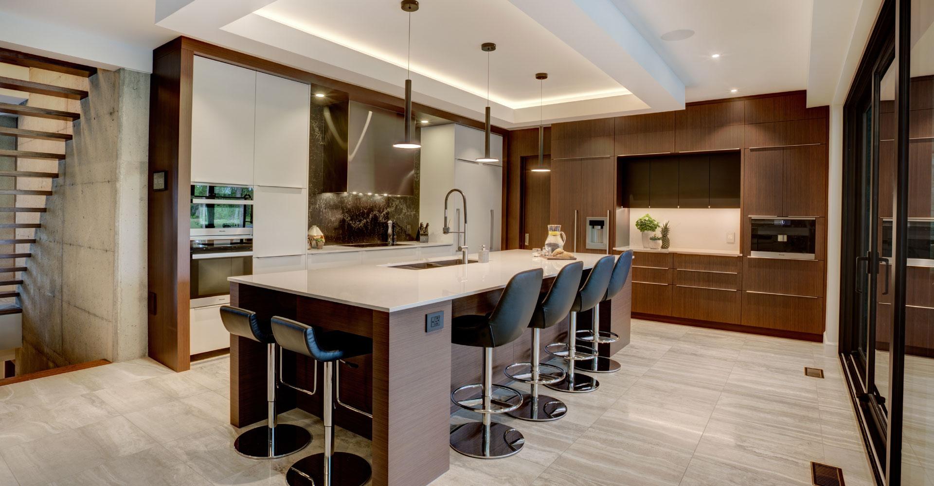 Projet résidence privée